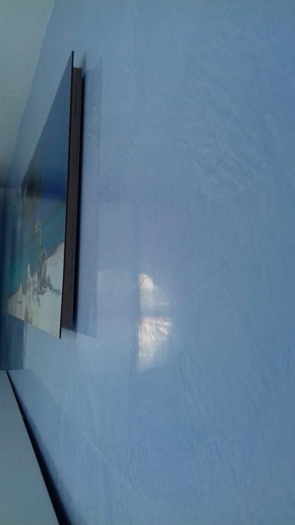 Stucco Venetie lichtblauw