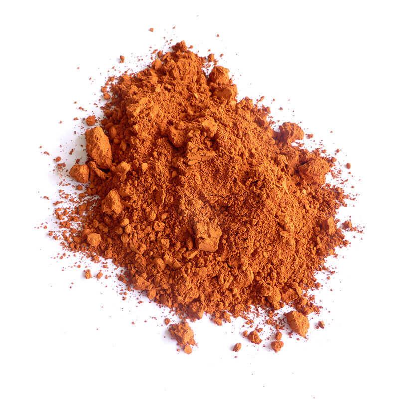 Oker-soforouge-Pigmenten