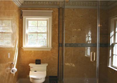 Stucco-Venetie-Italiaans-stucwerk-badkamer-lijst